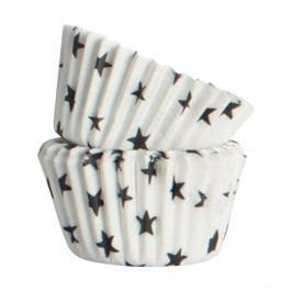 Nicolas Vahé Mini košíčky na pečení 48 ks, bílá barva, papír