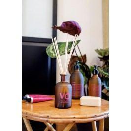 COMPAGNIE DE PROVENCE Vonný difuzér Skalní růže a kardamom 300ml, hnědá barva, sklo