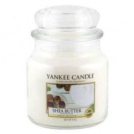 Yankee Candle Svíčka Yankee Candle 411gr - Shea Butter, bílá barva, sklo, vosk