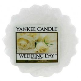 Yankee Candle Vosk do aromalampy Yankee Candle - Wedding Day, bílá barva, vosk