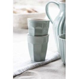 IB LAURSEN Latte hrneček Mynte Green Tea 250 ml, zelená barva, keramika