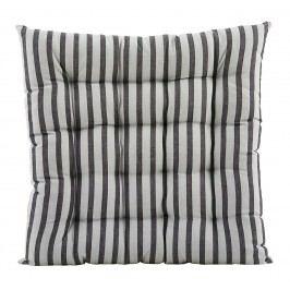House Doctor Sedák Black/grey 50x50, černá barva, textil