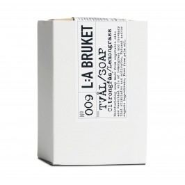 L:A BRUKET Mýdlo s citrónovou trávou - 120gr, bílá barva