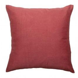 Bloomingville Polštář Cotton Red 40x40cm, červená barva, textil