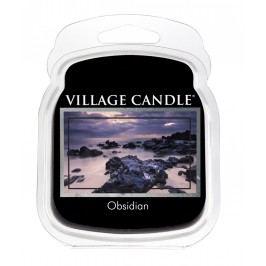 VILLAGE CANDLE Vosk do aromalampy Obsidian, černá barva, vosk