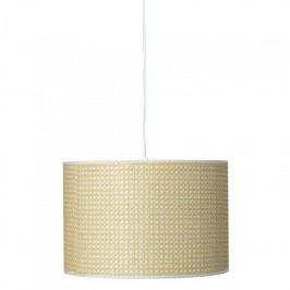 Bloomingville Stropní lampa Nature Bamboo, přírodní barva, proutí