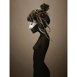 Ruben Ireland Grafický plakát This City 50x70 cm, černá barva, bílá barva