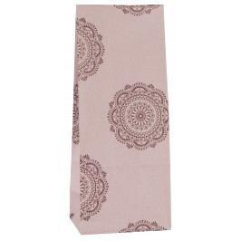 IB LAURSEN Papírový sáček Malva Burgundy S, růžová barva, papír