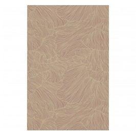 ferm LIVING Tapeta Coral Dusty Rose/Beige, růžová barva, béžová barva, papír
