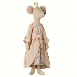 Maileg Myší princezna - mega, růžová barva, béžová barva, textil