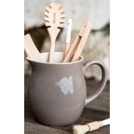 IB LAURSEN Džbán Mynte Milky Brown 2,5 l, hnědá barva, keramika