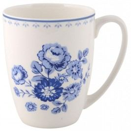 IB LAURSEN Hrneček Blue Rose, modrá barva, porcelán 300 ml