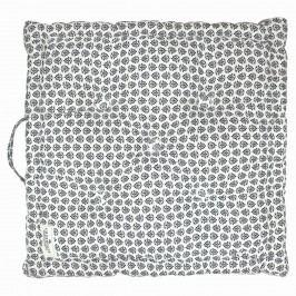 GREEN GATE Sedák Ashley dark grey 50x50, šedá barva, textil