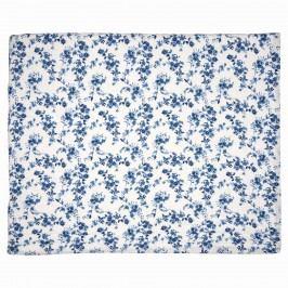 GREEN GATE Prošívaný přehoz Vanessa Blue 180x230 cm, modrá barva, textil