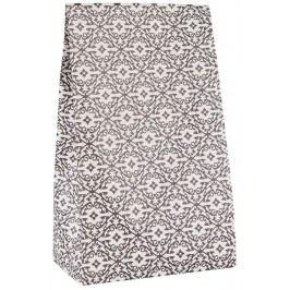 IB LAURSEN Dárkový sáček Renaissance, šedá barva, papír