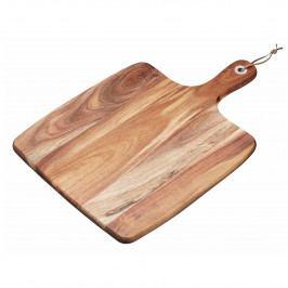 Kitchen Craft Dřevěné servírovací prkénko Acacia, hnědá barva, přírodní barva, dřevo