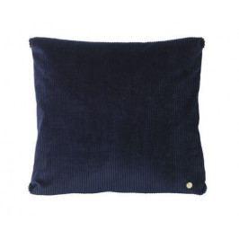 ferm LIVING Polštář s výplní Navy 45 x 45, černá barva, textil