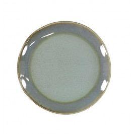 HK living Keramický talíř 70's Moss, modrá barva, zelená barva, keramika