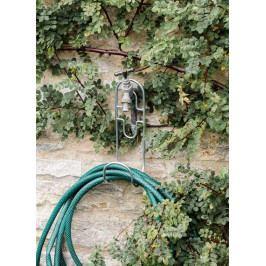 Garden Trading Závěsný držák na zahradní hadici, stříbrná barva