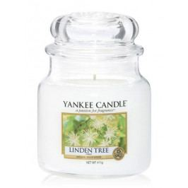 Yankee Candle Svíčka Yankee Candle 411gr - Lípa, bílá barva, sklo, vosk