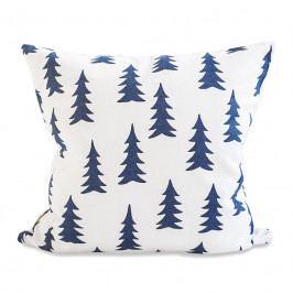 Fine Little Day Povlak na polštář Gran Blue 50x50 cm, modrá barva, textil