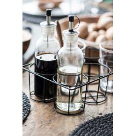 IB LAURSEN Lahev na olej s uzávěrem 200 ml, čirá barva, sklo