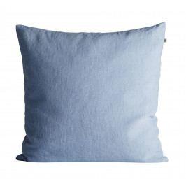 Tine K Home Lněný povlak na polštář Baby Blue 50x50cm, modrá barva, textil