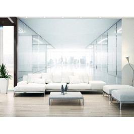 Murando DeLuxe 3D tapeta - Bílé město 150x105 cm