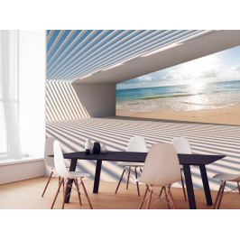 Murando DeLuxe 3D tapeta - Cesta k pláži 150x105 cm