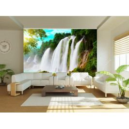 Murando DeLuxe Fototapeta - vodopády v Číně 150x116 cm