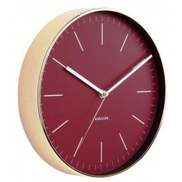 Designové nástěnné hodiny 5695RD Karlsson 28cm