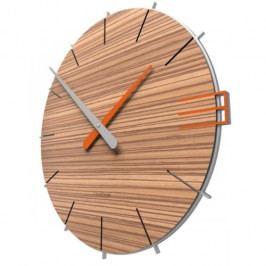 Designové hodiny 10-019n natur CalleaDesign Mike 42cm Design bělený dub - 81