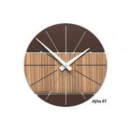 Designové hodiny 10-029 natur CalleaDesign Benja 35cm Design bělený dub - 81
