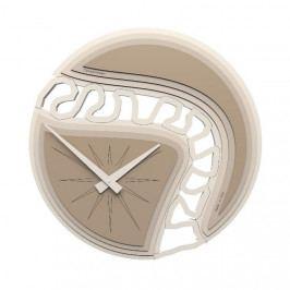 Designové hodiny 10-102 CalleaDesign 45cm bílá-1 - RAL9003