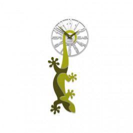 Designové hodiny 54-10-1 CalleaDesign 59cm bílá-1 - RAL9003