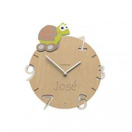 Dětské nástěnné hodiny s vlastním jménem CalleaDesign želva 36cm
