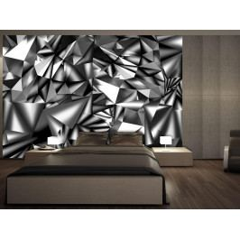 Murando DeLuxe 3D tapeta - Metalická harmonie 150x105 cm