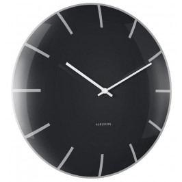 Designové nástěnné hodiny 5722BK Karlsson 40cm