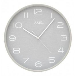 Designové nástěnné hodiny 5521 AMS řízené rádiovým signálem 32cm