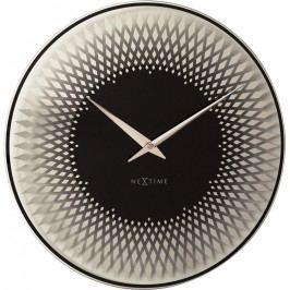 Designové nástěnné hodiny 8186zi Nextime Sahara 43cm