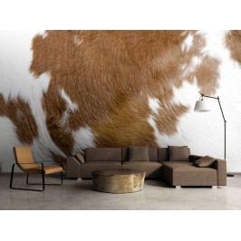 Murando DeLuxe Tapeta hovězí kůže 150x116 cm
