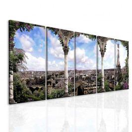 InSmile Obraz romantická Paříž(120x60 cm)