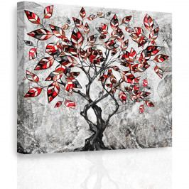 InSmile Obraz - Malovaný strom 60x60 cm