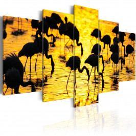 Murando DeLuxe Plameňáci 200x100 cm