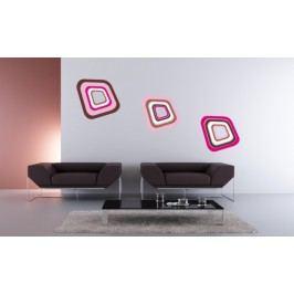 Retro kostky 3D - Samolepka na stěnu