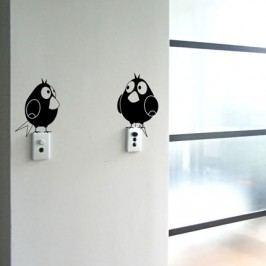 Ptáčci set 2 - Samolepka na stěnu