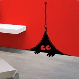 Strašidýlko ve zdi (40 x 29 cm) -  Samolepka na zeď