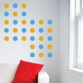 Kruhové pruhy - Samolepka na zeď