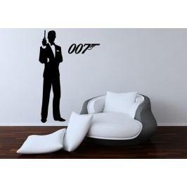 James Bond 007 (Výška postavy: 60 cm) -  Samolepka na zeď