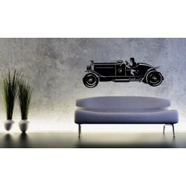 Veterán kabriolet (60 x 23 cm) -  Samolepka na zeď
